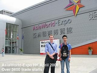 AsiaWorld Expo Hong Kong 2006