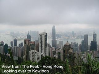Hong Kong Peak - Journey on the Peak Tram