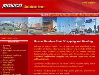 Stainless Steel Banding and Strapping
