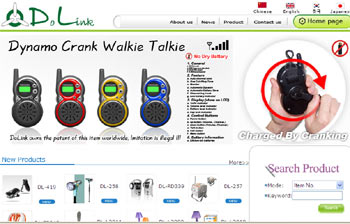 Dynamo Walkie Talkie from Dolink-13