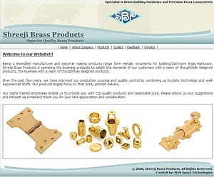 Shreeji Brass Products - building/bathroom Brass Hardware